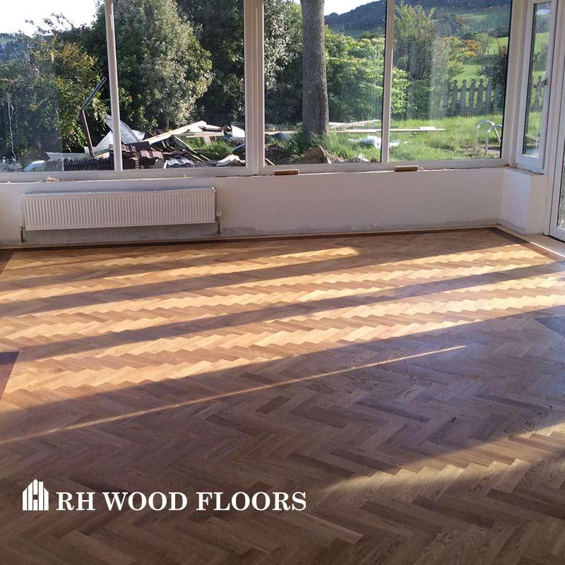New parquet flooring installed in dublin Clontarf