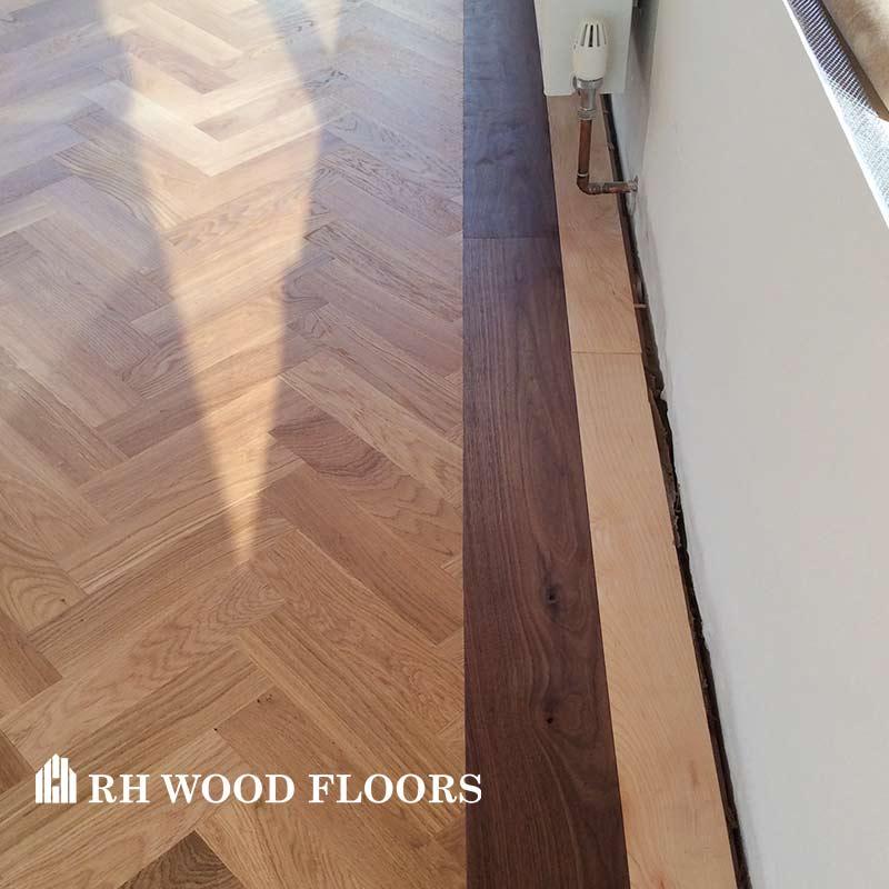New parquet flooring installed in dublin Cornelscourt