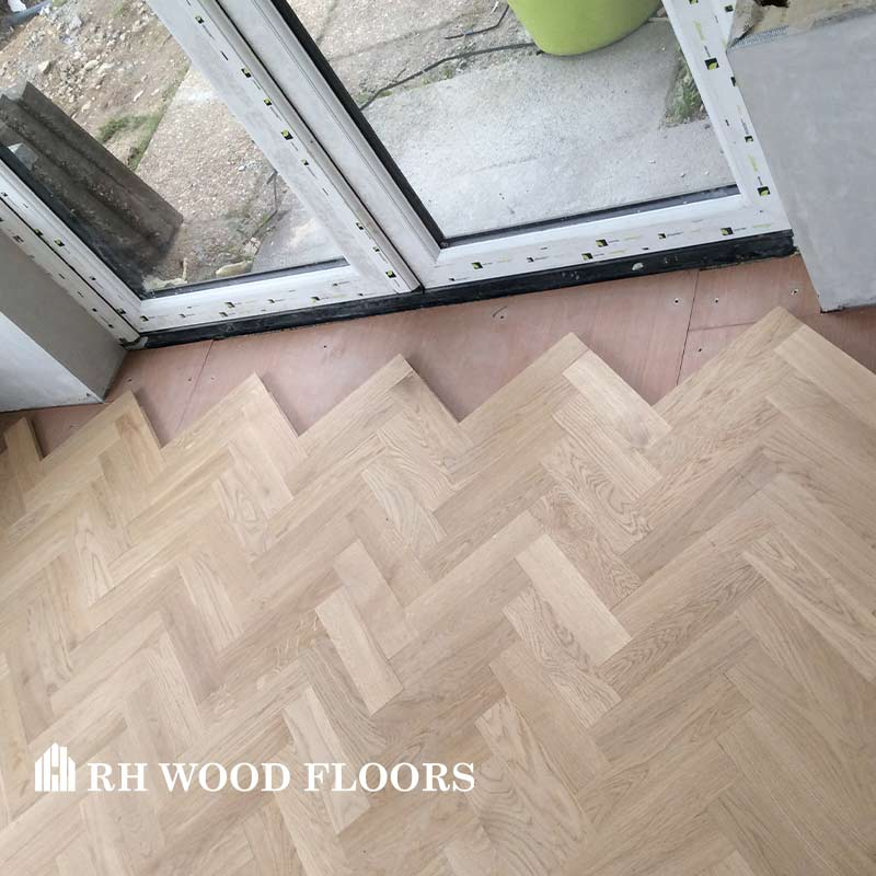 New parquet flooring installed in dublin Inchicore