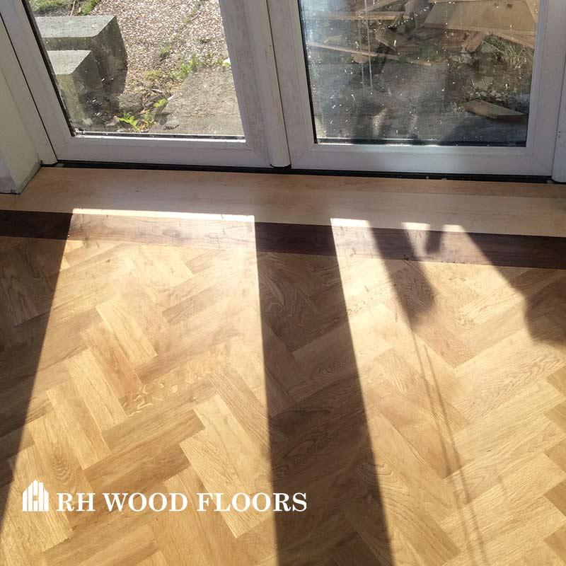 New parquet flooring installed in dublin Sallynoggin