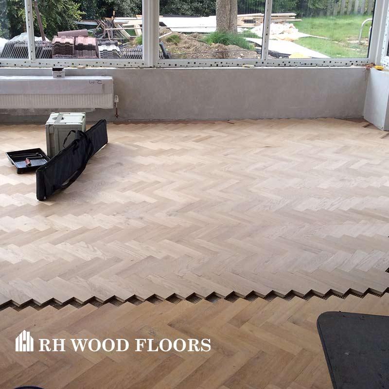 New parquet flooring installed in dublin Terenure