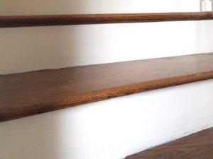 wood stairs restoration